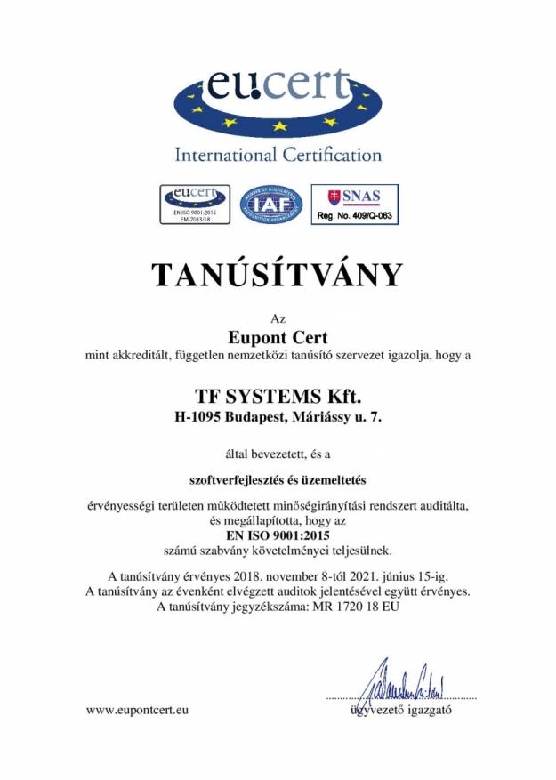 TF SYSTEMS Kft._TA - Tanúsítvány MIR magyar-page-001